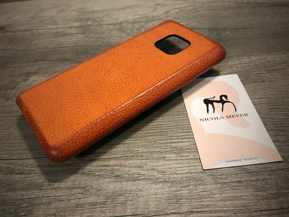 Huawei P20 PRO Mate 20 Mate 20 Pro Leather Case handmade in Italy Colour to CHOOSE