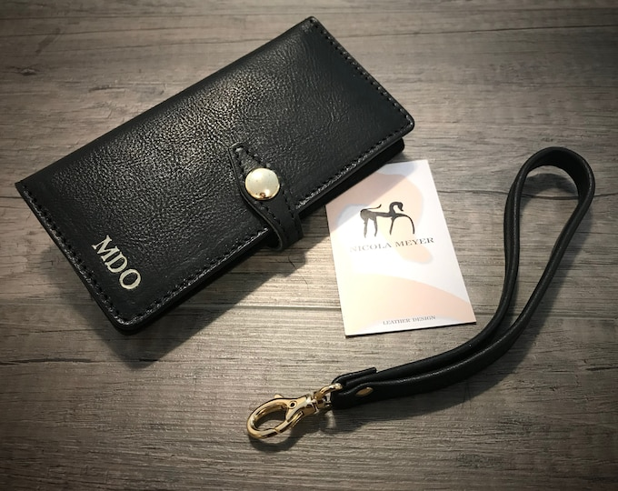 S10/S105G/S10Plus/S10Lite Samsung Galaxy Wristlet Flip Book Bifold Leather Case with credit card holder CHOOSE device and color