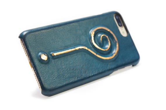 Iphone Leather Case for 7 6S Plus or SE or 5/5s to use as protection Question Mark laminated