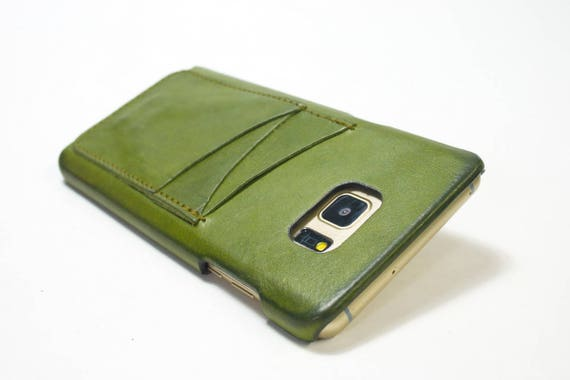 New NOTE 9 Leather Case natural leather 3 credit cards vertical use as protection Choose color
