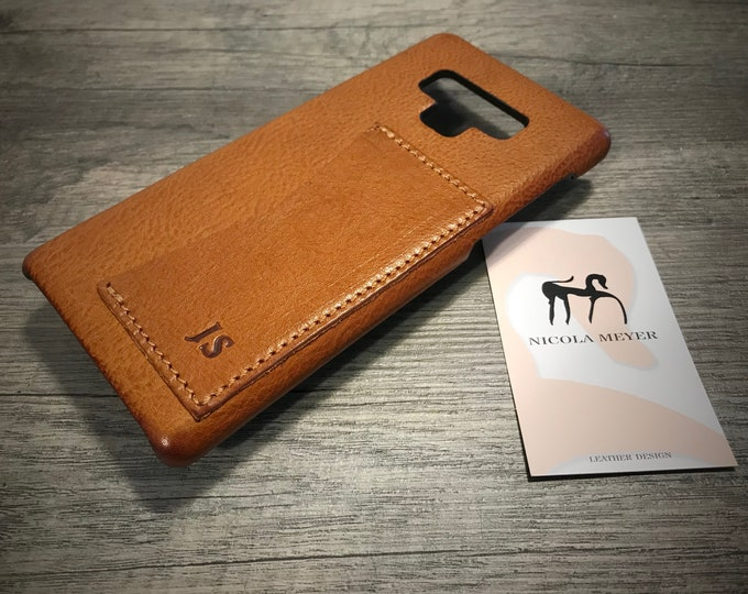 S10/S105G/S10Plus/S10Lite Samsung Galaxy Leather Case genuine natural leather 1 credit card use as protection CHOOSE color and device