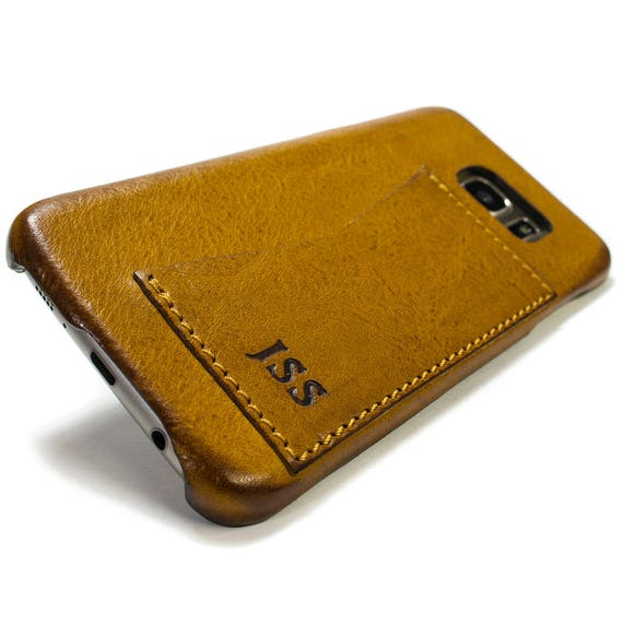 NEW S9/S9 Plus Samsung Galaxy S8 and S8 Plus Leather Case genuine natural leather 1 credit card use as protection CHOOSE color and device