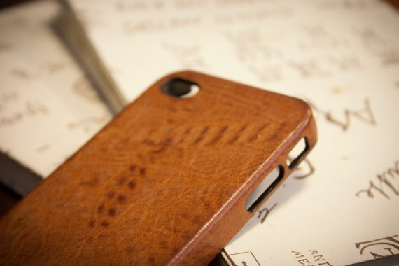 NEW iPhone Texture CHAINS Italian Vegetable Tanned Leather Case for X 8 7 6S and Plus SE/5/5s choose color and device