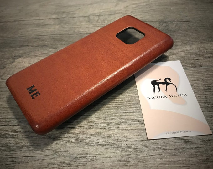Huawei Mate 20 Mate 20 Pro P20 P20 PRO P10 and P10 Plus Leather Case handmade in Italy Device and Colour to CHOOSE
