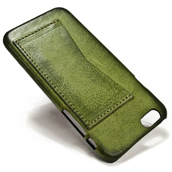 "iPhone 6 Leather Case Washed Leather with credit card holder for 4.7"" & PLUS 5.5"" colour to CHOOSE"