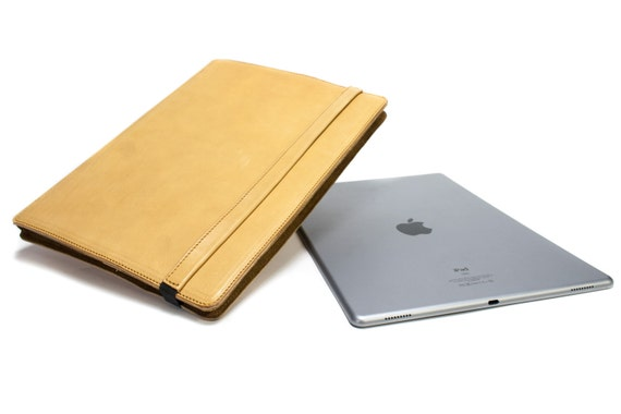 """iPad PRO 12.9"""" 2015-2016  code A1652 A1584 PORTFOLIO leather case made by genuine Italian leather as protection choose Body and Accent color"""