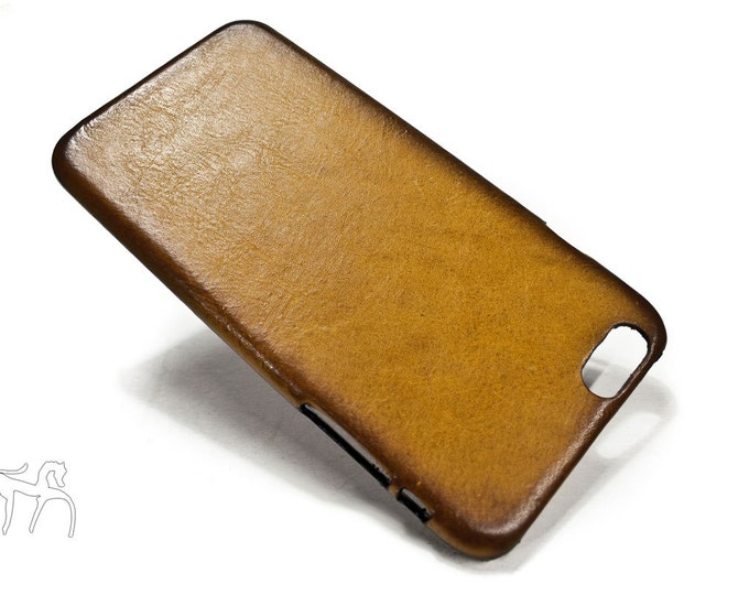 iPhone 12/11/10/x/8/7/6s/6 Leather Case Washed Leather Aged colour to CHOOSE