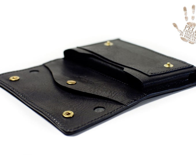 Samsung Galaxy NOTE 9 and 8 S9/S9Plus/S8/S8Plus/S7/S7Edge/S6/S6Edge/S6EdgePlus Leather Case for use as a belt pouch for wallet banknote