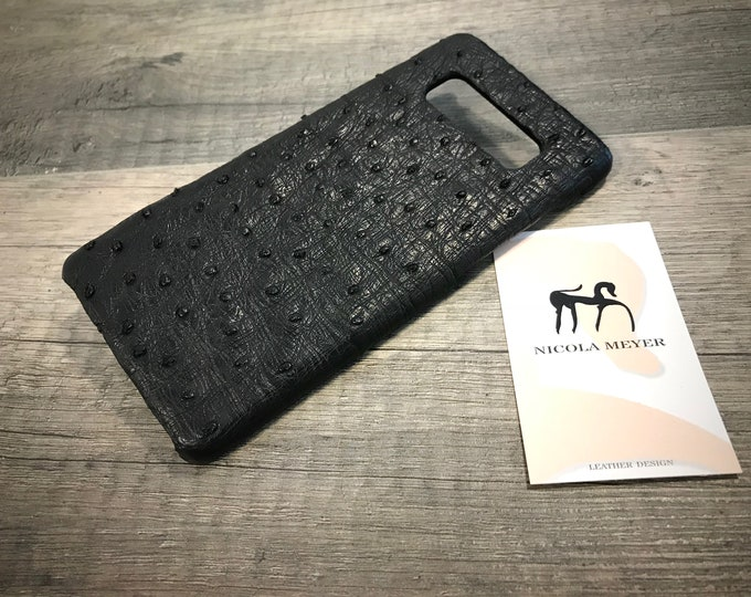 NEW S10/S10Plus/S10Lite Case Galaxy Genuine Ostrich leather case choose Device and Color