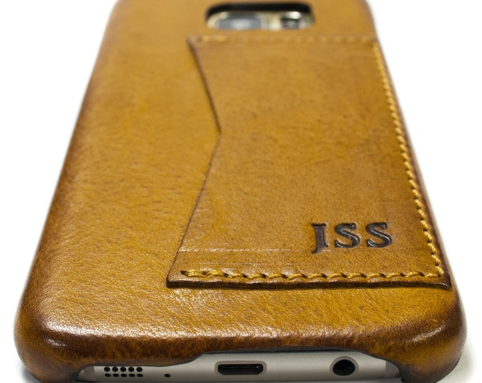 New NOTE 9 Samsung Galaxy Leather Case genuine natural leather 1 credit card use as protection choose color