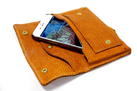 NEW iPhone 7 leather wallet Genuine Leather Sleeve for use as a belt pouch credit cards col CHOOSE