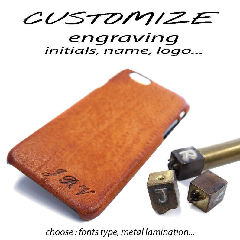 CUSTOMIZE with Initials or Text or LOGO monogram engraved image 0