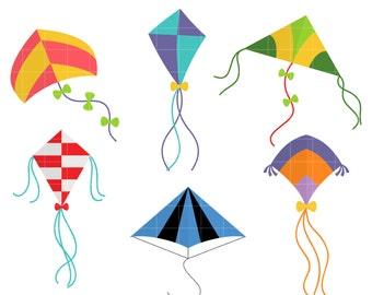 kites clip art etsy rh etsy com kite clip art to color kite clip art black and white
