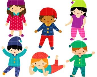 pajama party clipart etsy rh etsy com pajama party clipart pajama party clipart images