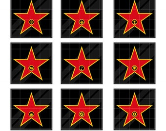 Walk Of Fame Stars Clip Art For Scrapbooking Card Making Cupcake Toppers Paper Crafts