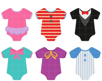 onesie clip art etsy rh etsy com baby cloth clipart baby onesie clipart template