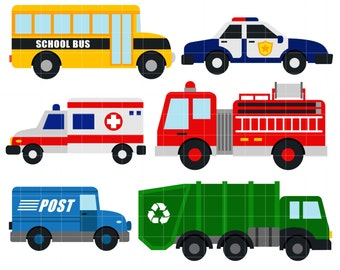Image result for community helpers vehicles clipart