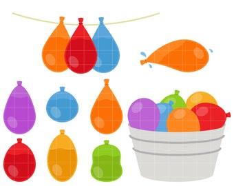water balloon clip etsy rh etsy com
