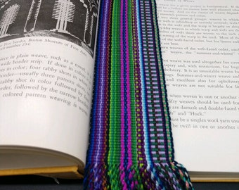 Bookmarks Custom Made Hand Woven (1.5 in. - 2 in.)