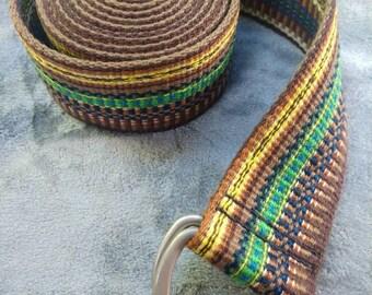 Yoga Strap Custom Made Hand Woven