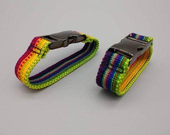 Reversible Bracelet Custom Made Hand Woven