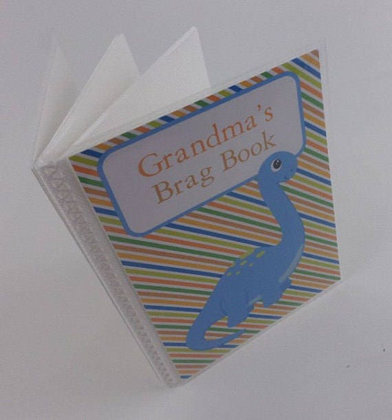 Baby Photo Album Grandmas Brag Book Personalized Photo Album Etsy