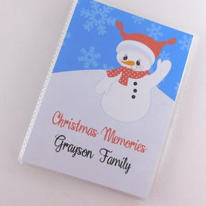 Family Photo Album Christmas Memories Photo Book Country Christmas Album Christmas Photos Stocking Stuffer Christmas Photo Album 4 x 6 Photo Book