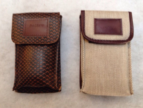ACCESSORIES CASE Leather or canvas, Ideal for Glasses  Iphones (6), Calculators to fit size 6 x 3.5 x 1.25 inch ( 15 x 8 x 3.5 cm )