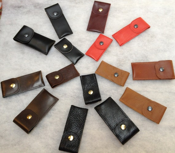 LEATHER CASE  fits Dongle ,Usb, Small keyring Digifob,Digivu,Vapour E pen, SML /Belt loop