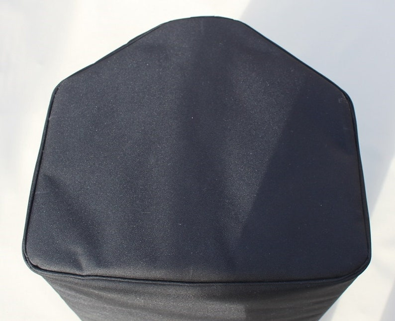 Padded Slip over Open base or Full zip base Cover To Fit YAMAHA DZR12  /DZR12-D DZR15 / DZR15-D Speaker (two) Bacsew