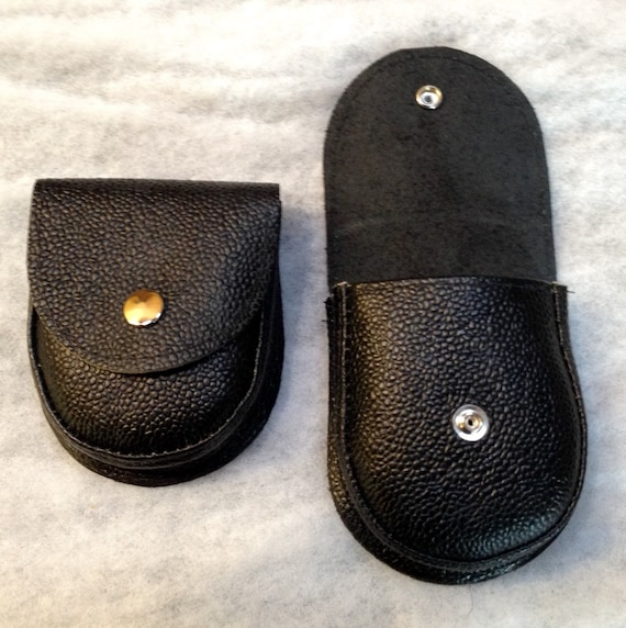 """Large (sold out) or Small   BUFFALO Indian LEATHER  POUCH / Case/ Bushcraft, Phone,Pellets Press stud / 70mm 2.75"""" Belt Loop/Bacsew"""