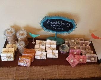 Hibiscus Mango Goatsmilk Soap