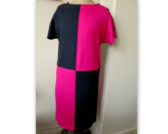 b4befc19a8b47 Crop Top MANOUSH pink red and black size 36 sleeveless