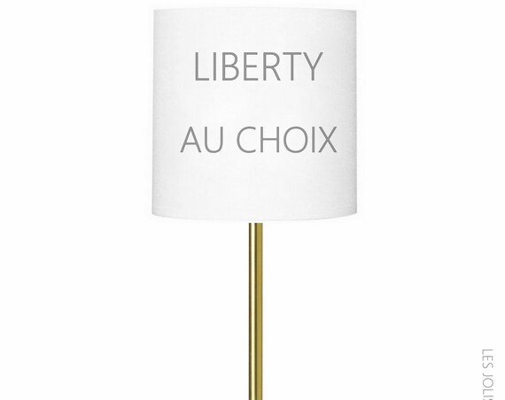 Customize your lamp LIBERTY