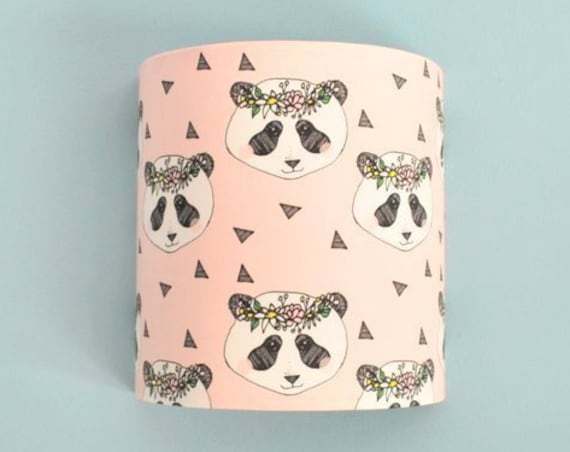 SWEET PANDA wall applique