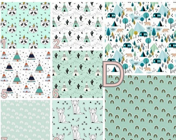 PersonalISABLE Wall Apply Mint, Turquoise, Black and White