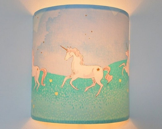 WILD UNICORN Wall Sconce
