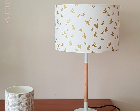 GOLD BIRD Lamp