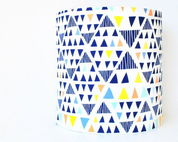 Reserved for VIRGINIE TOTEM BLUE Lampshade