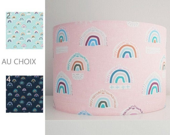 RAINBOW lampshade (colours of your choice)