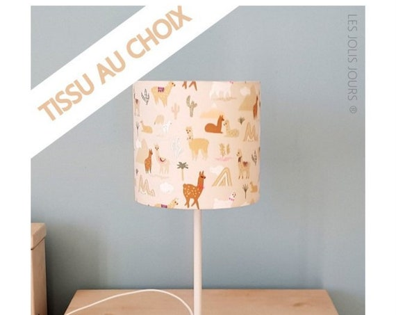 PERSONALNALISABLE Lamp Tones beige, yellow, mustard and green