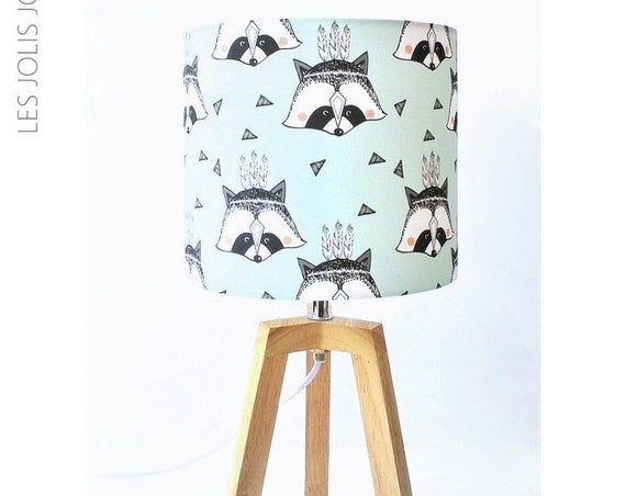ROCKY RACCOON lamp