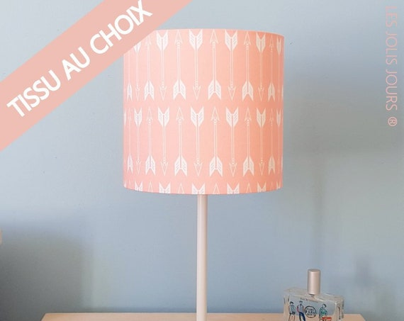 PERSONALNALISABLE Lamp Pink, coral and gold
