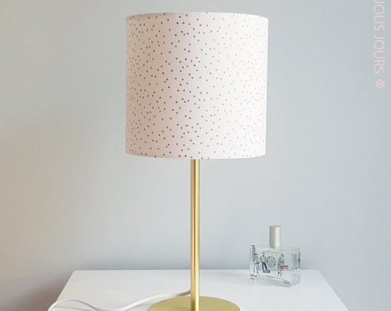 GOLD DOT Lamp (White)
