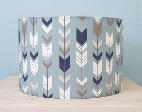 BLUE ARROW lampshade (Colours of your choice)