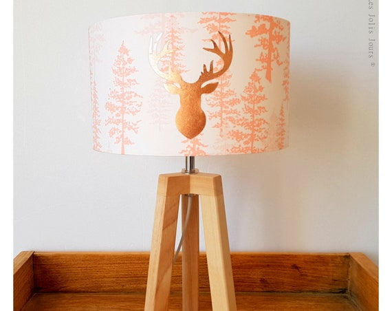 WOODLAND tripod lamp