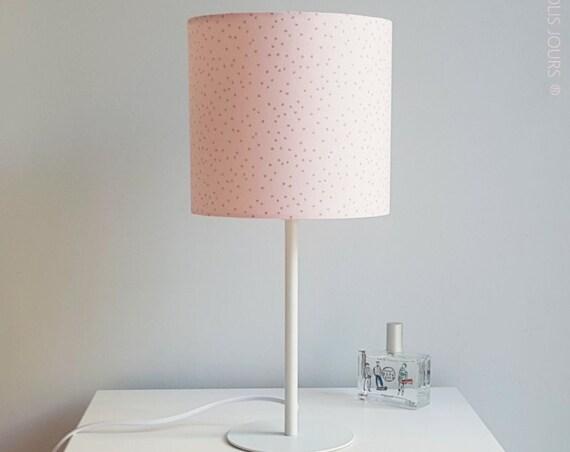 GOLD DOT Lamp (Powder Rose)
