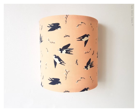HAPPY SWALLOW Wall Sconce