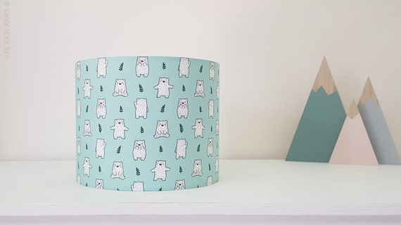 POLAR BEAR lampshade (color to choose from)