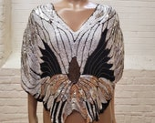 Butterfly Sequin Top Vintage